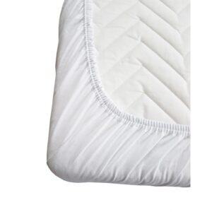 My baby plahta s gumom,120x60cm – bijela, 10171
