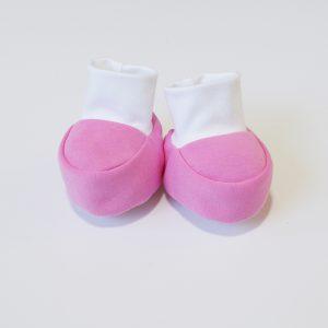 Baby papučice roze