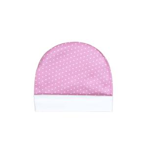 Baby kapa roza s točkicama