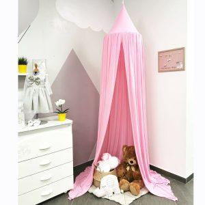 Baldahin/šator, rozi