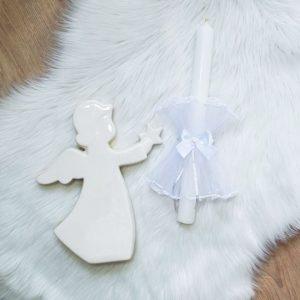 Krsna svijeća – bijela