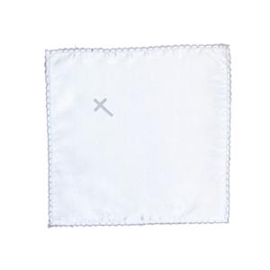 Maramica za krštenje – srebrni križ, K10328