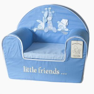"Fotelja ""Tri prijatelja"", plava"