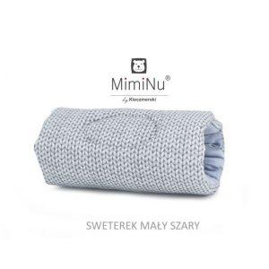 Narukvica za hranjenje – mali sivi pulover