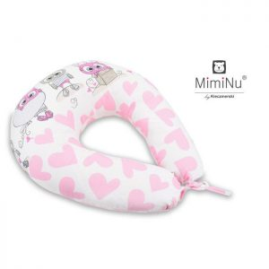 Jastuk za dojenje Sovica Pink