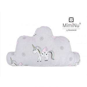 Ukrasni jastuk oblak – Jednorog Pink