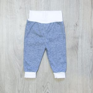 Baby hlače – sive