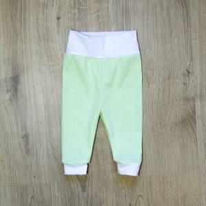 Baby hlače – zelene