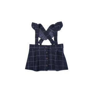 Karirana suknja na tregere