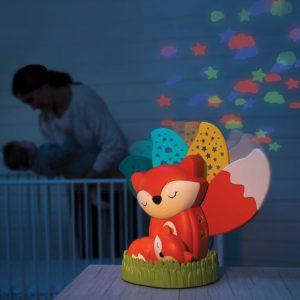 Noćna lampa/projektor – lisica