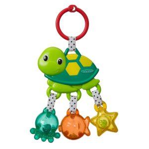 Viseća igračka s grickalicom- kornjača