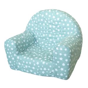 """dječja fotelja """"Ana"""" – zvjezdice, mint 13323"""