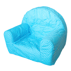 """Dječja fotelja """"Ana"""" – zvjezdice, plava 13323"""
