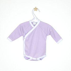 Body benkica – lila, bijele točkice