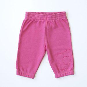 """Baby hlače """"CVIJET"""" – roze"""