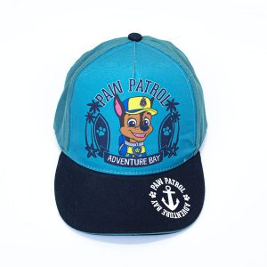 Kapa šilterica – Paw Patrol (tirkizna, tamno plavi šilt)