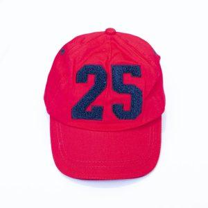 Kapa šilterica – crvena, broj 25
