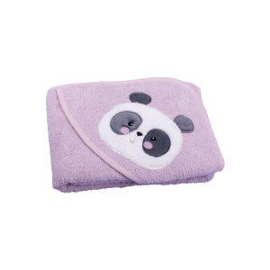 My baby ručnik s kapuljačom – prljavo rozi 115
