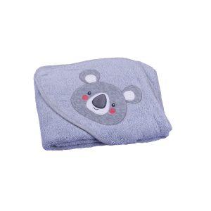 My baby ručnik s kapuljačom – sivi 115