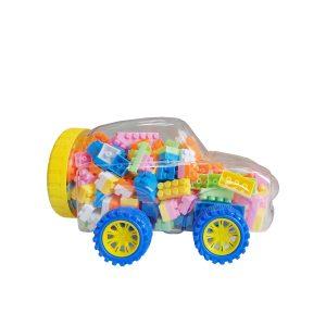 Konig kids automobil s kockicama, 120 kom