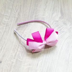 Rajf, svijetlo roza-pink mašna