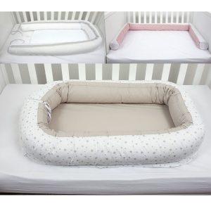 Gnijezdo za bebe – bež 12491
