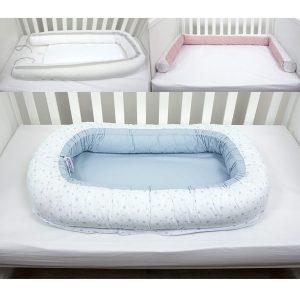 Gnijezdo za bebe – plavo 12491