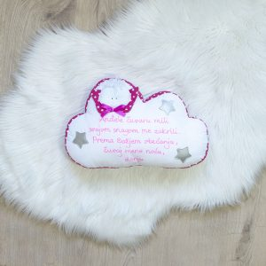 Jastuk ANĐEO oblak – ružičasti
