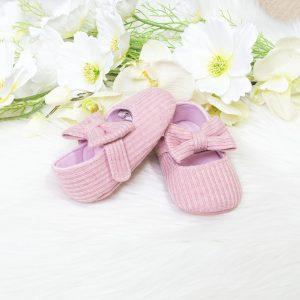 Baby balerinke roze – mašna