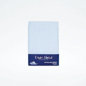 Plahta s gumom,140x70cm, plava