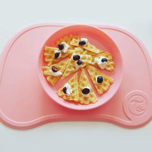 Twistshake podloga + tanjur 430ml – Pastel Pink