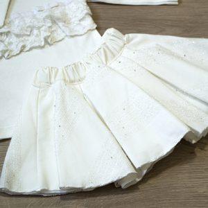 Komplet 3/1 – majica, bolero, suknja 13228