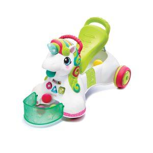 Infantino igračka za prohodavanje Ride on unicorn 14210