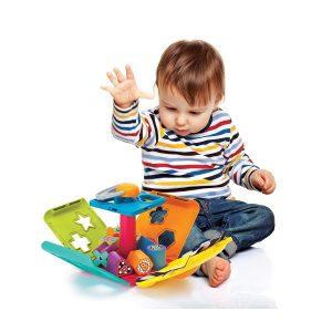 B kids edukativna igračka jungle buddy shape sorter 14206