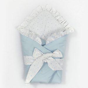 """Jastuk za bebe """"Tri prijatelja u Parizu"""", plavi"""
