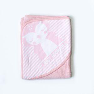 My baby ručnik s kapuljačom – Just adorable – rozi
