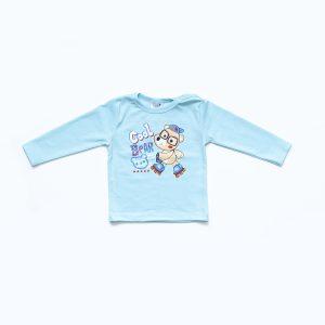 Kretex baby majica Cool bear – plava