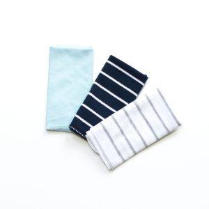 Krpice za brisanje 3/1 – plavo i pruge
