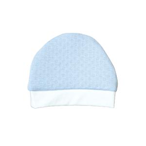 Baby kapa, rupičasti uzorak – plava K3959