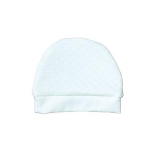 Baby kapa, rupičasti uzorak – bijela K3959