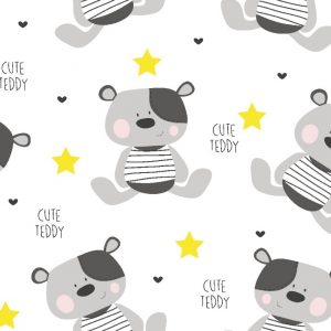 Tetra pelena 1kom – cute teddy