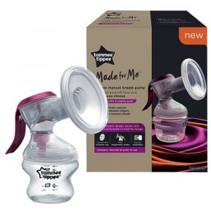 Tommee Tippee® Ručna izdajalica za majčino mlijeko Made for Me™ 14417