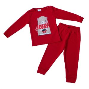 """Kretex baby pidžama """"Vanja"""" (80-86) – crvena K10516"""