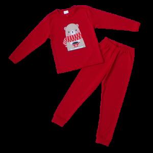 """Kretex kids pidžama """"Vanja"""" (2-4) – crvena K10484"""