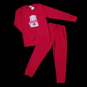 """Kretex kids pidžama """"Vanja"""" (10-14) – crvena K10517"""