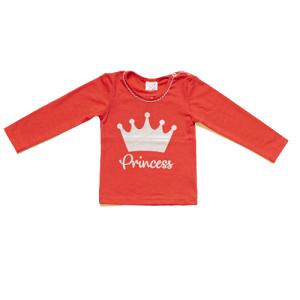 """Kretex majica """"Princess"""" (80-86) – crvena K10389"""