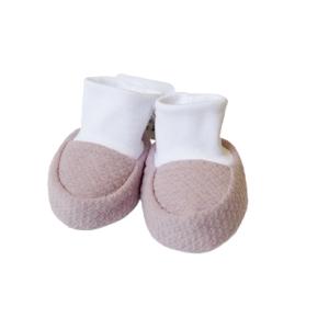 Baby papučice – prljavo roze