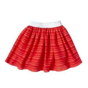"Kretex suknja ""Mia"" – crvena K11160"