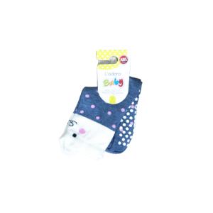 L`adoro pamučne neklizajuće čarape – mica s rozim točkama 11599