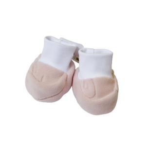 Baby papučice – roze s uzorkom